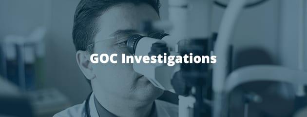 GOC investigations header image