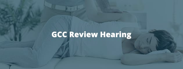 GCC Review Hearing
