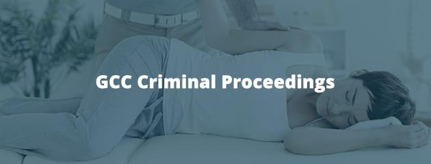 GCC Criminal Proceedings