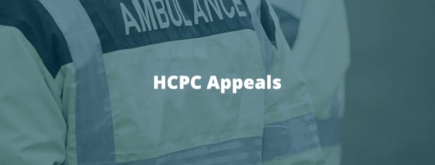 HCPC appeals header image