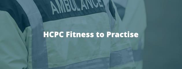HCPC Fitness to Practise