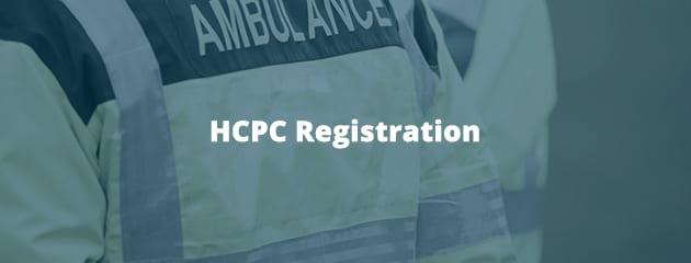 HCPC Registration