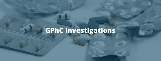 GPhC investigations header image