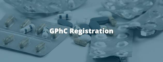 GPhC registration header image