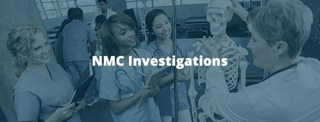 NMC investigations header image