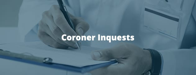 Coroner inquests header image