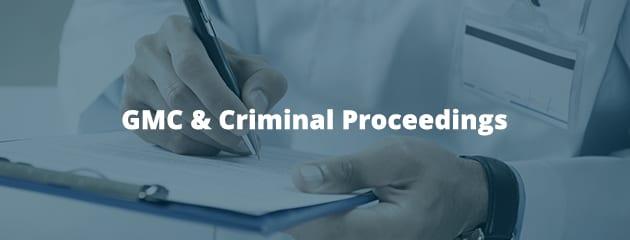 GMC & Criminal Proceedings
