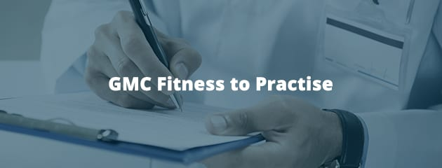 GMC fitness to practise header image