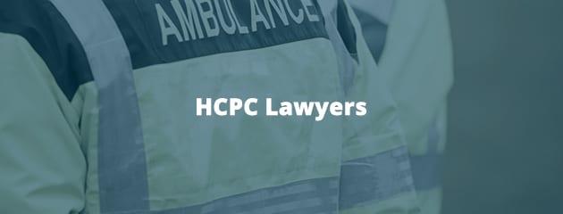 HCPC lawyers header image