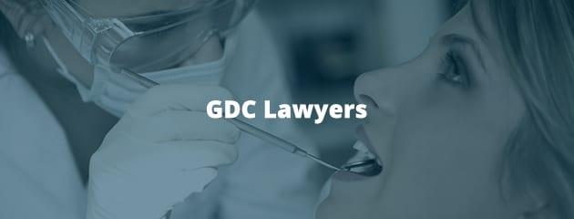 GDC lawyers header image
