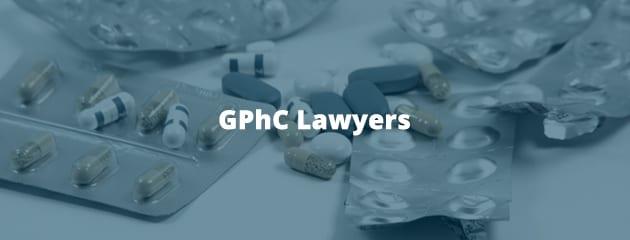 GPhC lawyers header image